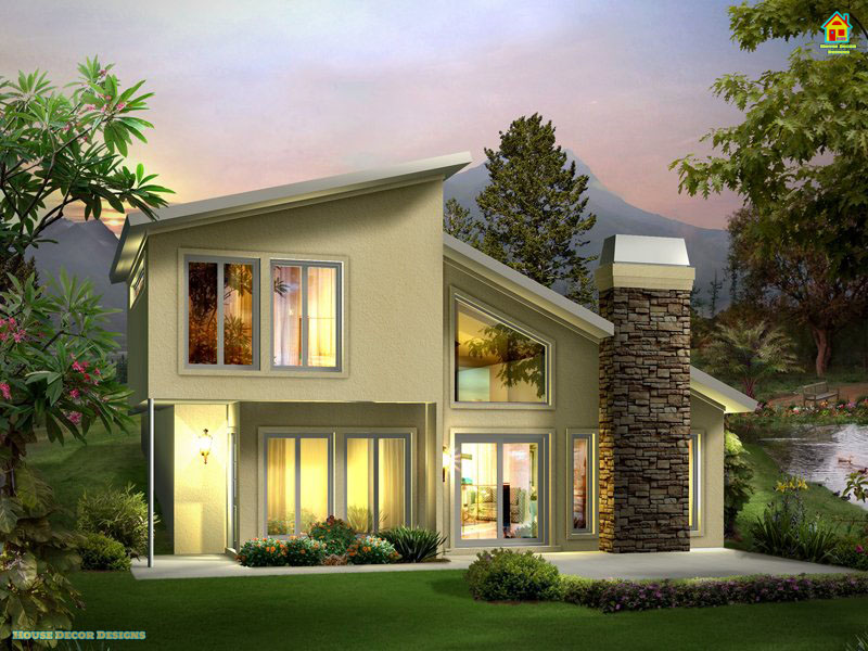1100 square foot House Front Elevation